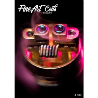 FineArt Coils FineArt Coils - Handmade #002 Fine Fused Clapton