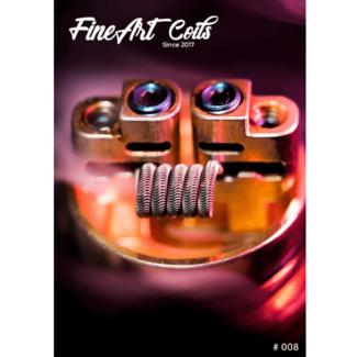 FineArt Coils FineArt Coils - Handmade #008 3-Core Alien