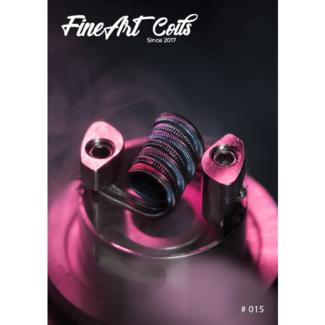 FineArt Coils FineArt Coils - Handmade #015 Vlavour5 Coil