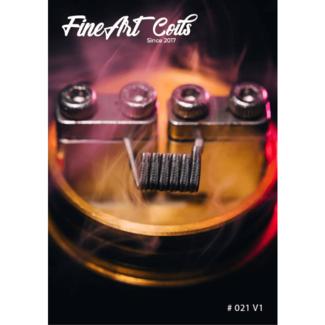 FineArt Coils FineArt Coils - Handmade #021 MTL Alien