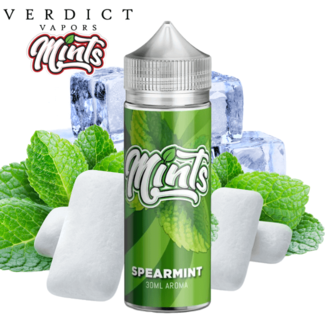 VERDICT VAPOR Mints - Spearmint - 30ml Longfill Aroma