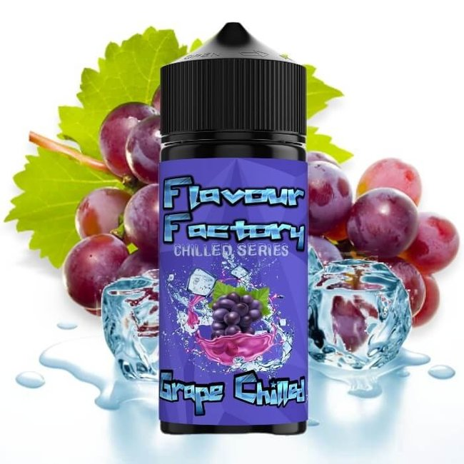 Flavour Factory Grape Chilled 100ml E Liquid by Flavoured Factory
