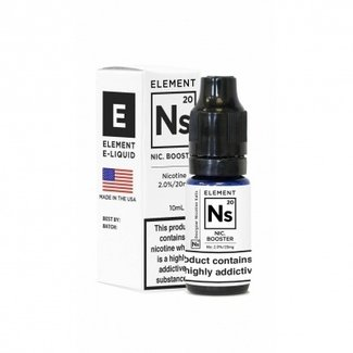 ELEMENT E-LIQUIDS Element - Nikotinsalz Ns20 VPG ( 20mg 10ml ) Shot