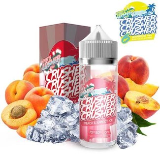 Prohibition Vape Crusher E-Liquid - Peach & Apricot Ice 100ml