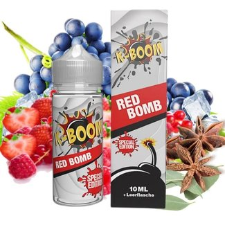 K-Boom K-Boom - Special Edition Red Bomb 2020 Aroma