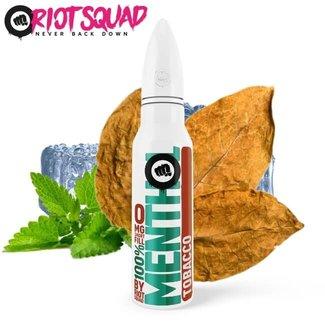 RIOT LABS LIQUIDS Riot Squad - 100% Menthol Tabak 50ml E-Liquid