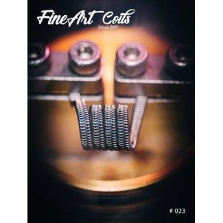 FineArt Coils FineArt Coils - Handmade #023 Framed Staple Interlocked Alien