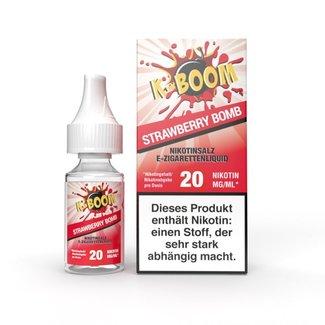 K-Boom Strawberry Bomb Nic Salt