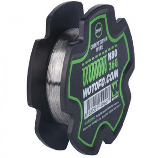 WOTOFO Wotofo Competition Wire Ni80 36G 300ft