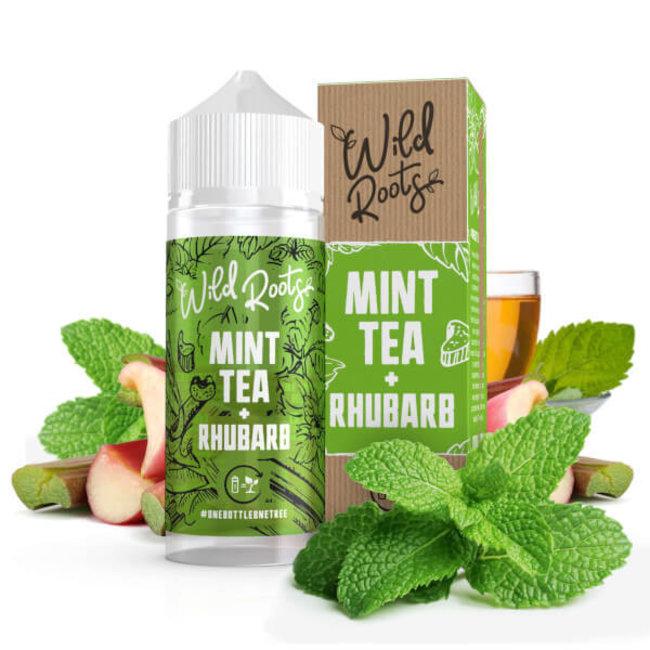Wild Roots - Mint Tea Rhubarb 100 ml Liquid
