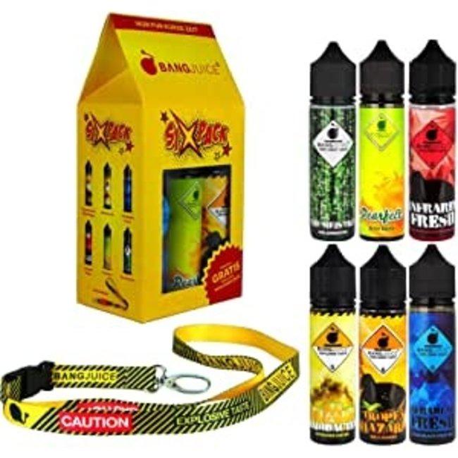 Bang Juice -Sixpack 6xAroma BangJuice