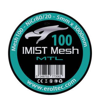 IMIST 3 Meter NiCr 80 MTL Mesh Wire 100