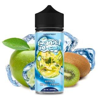 Vapestreet Wanna be Cool-Apple Kiwi Fresh Aroma