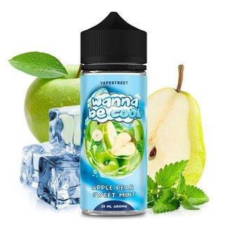 Vapestreet Wanna be Cool-Apple Pear Sweet Mint Aroma