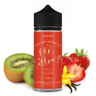 Vapestreet OLD FELLOWS No.1-Strawberry Kiwi Cocktail&Vanilla Aroma