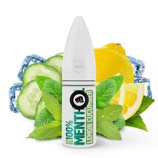 RIOT LABS LIQUIDS RIOT SQUAD 100% Menthol Lemon Cucumber Menthol Hybrid Nikotinsalz Liquid 10 ml