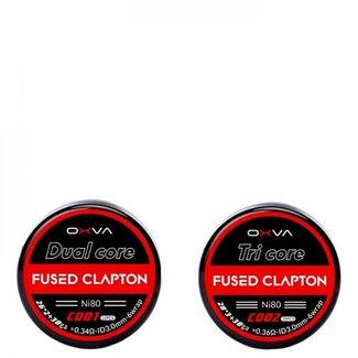 OXVA OXVA Prebuilt NI80 Dual-Core Fused Clapton