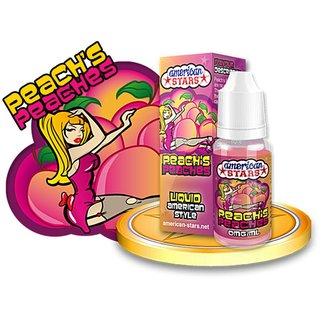 American Stars e liquid Peach`s Peaches e liquid für e zigaretten