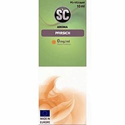SC Pfirsich e-zigaretten Liquid