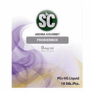 SILVER CONCEPT Gourmet Probierbox E-Zigaretten Liquid