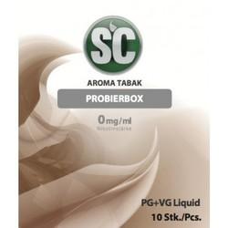TOBACCO PROBIERBOX E-LIQUID für e-zigaretten