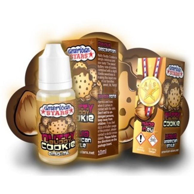 American Stars American Stars NUTTY-BUDDY-COOKIE e-liquid