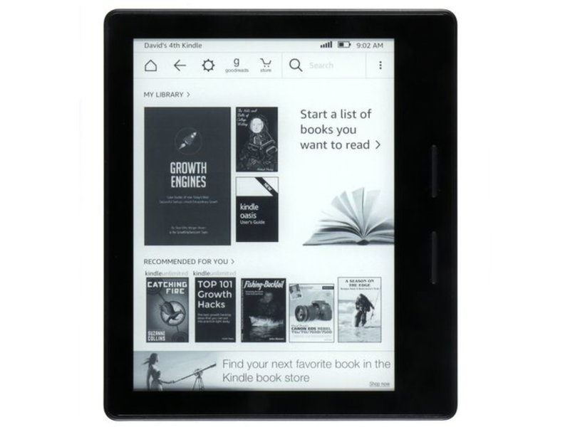 Kindle Oasis 8e Gen. 4GB Zwart