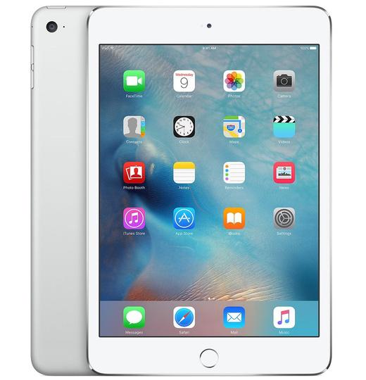 Apple iPad Mini 4 64GB Wifi Zilver
