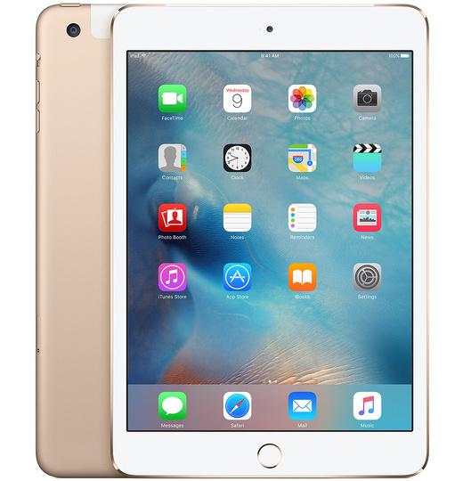 Apple iPad Mini 4 16GB Wifi+4G Goud
