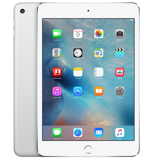 Apple iPad Mini 4 128GB Wifi Zilver