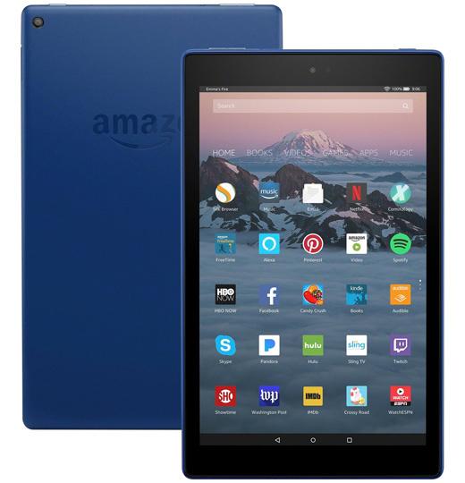 amazon Fire HD 10 (7e Gen.) Blauw