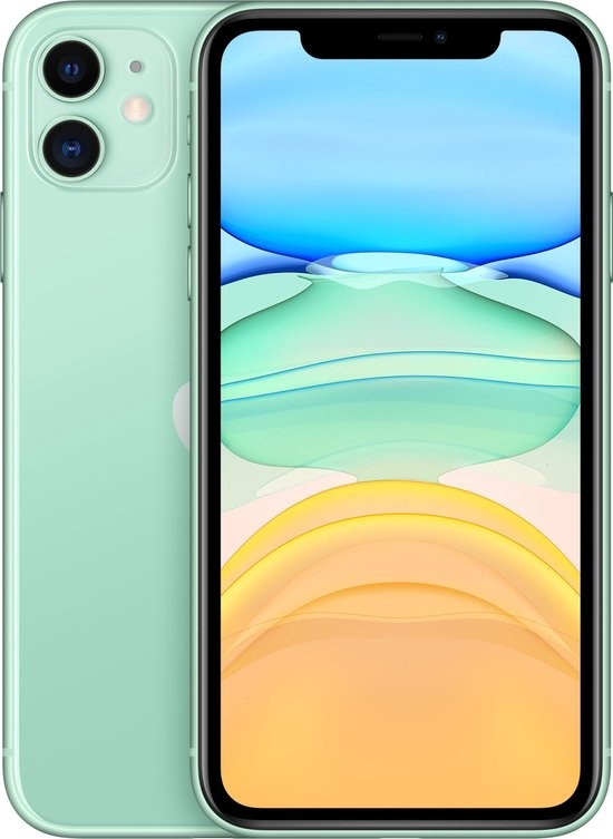 APPLE iPhone 11 64 GB Groen