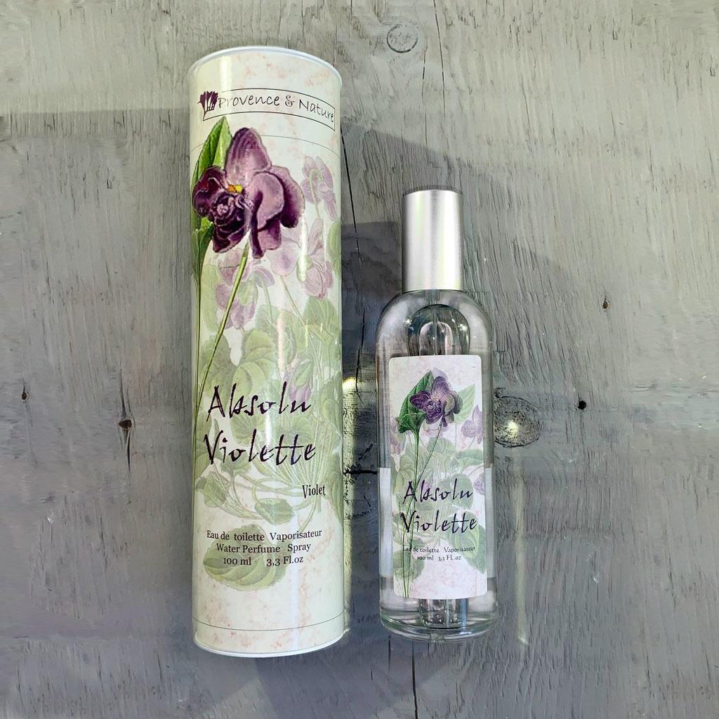"""Eau de Toilette """"Violette"""", 100ml, Provence et Nature"""