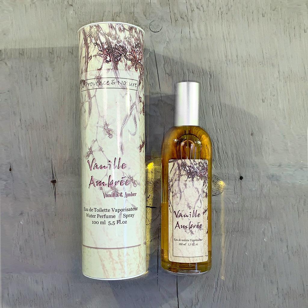 """Eau de Toilette """"Vanille Ambre"""", 100ml, Provence et Nature"""