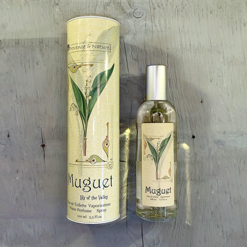 """Eau de Toilette """"Muguet"""", 100ml, Provence et Nature"""
