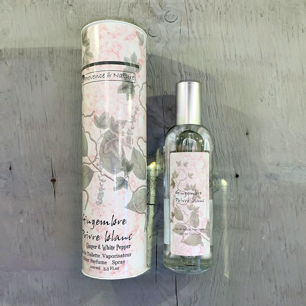 """Eau de Toilette """"Gingembre Poivre Blanc"""", 100ml, Provence et Nature"""