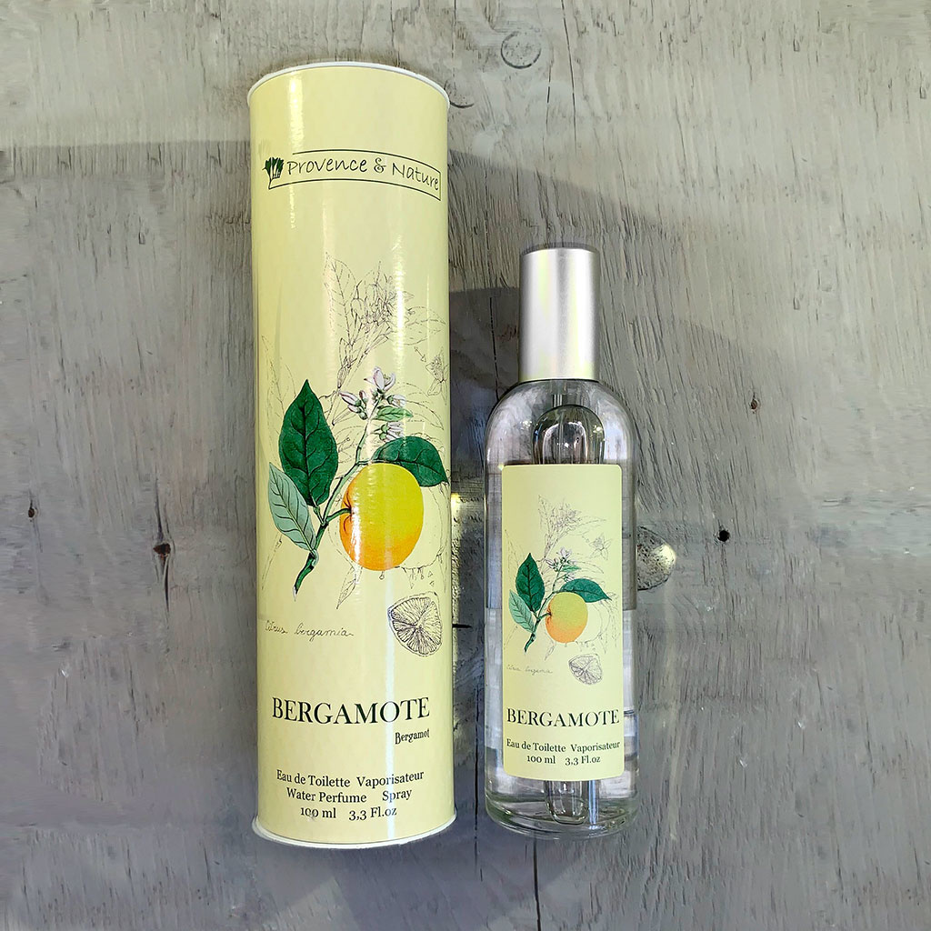"Eau de Toilette ""Bergamote"", 100ml, Provence et Nature"