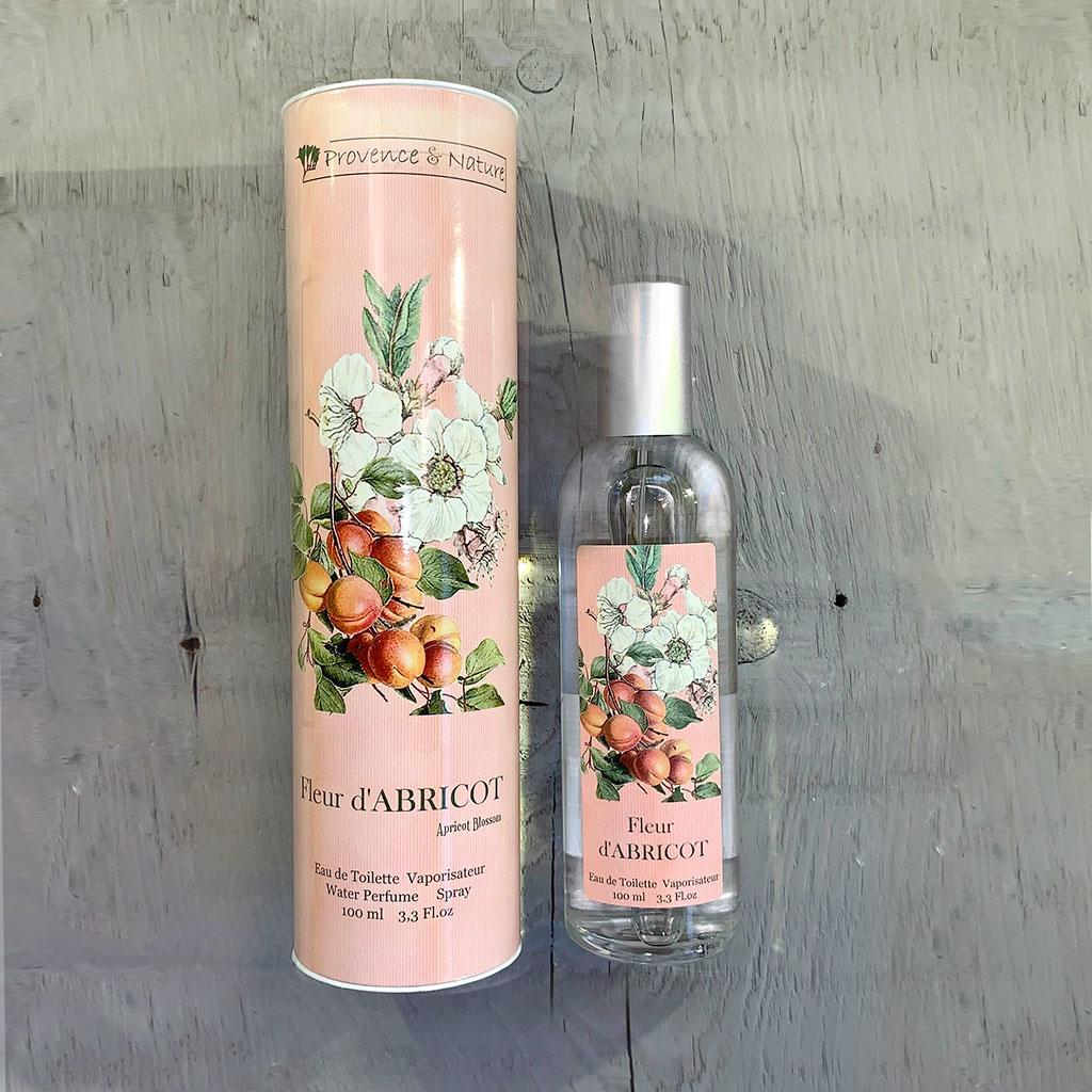 """Eau de Toilette """"Fleur d'Abricot"""", 100ml, Provence et Nature"""