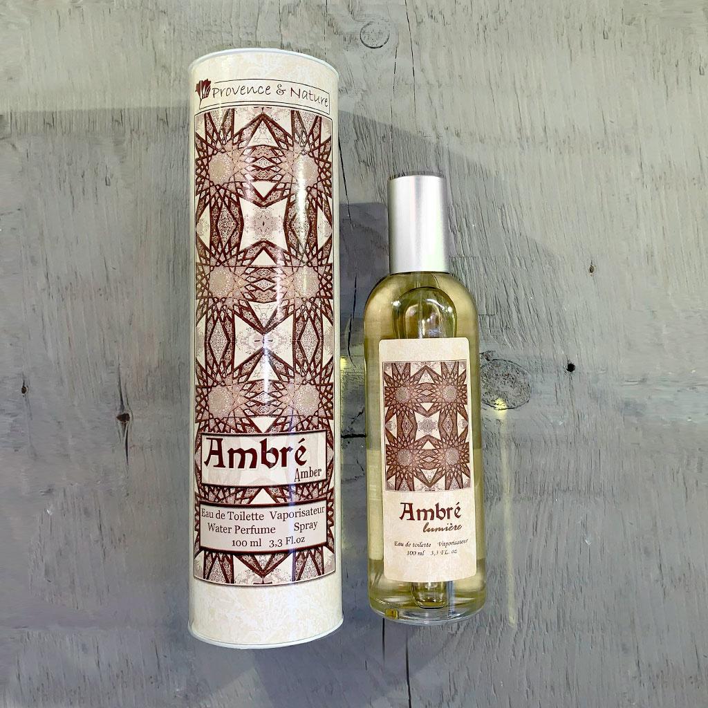 """Eau de Toilette """"Ambre"""", 100ml, Provence et Nature"""
