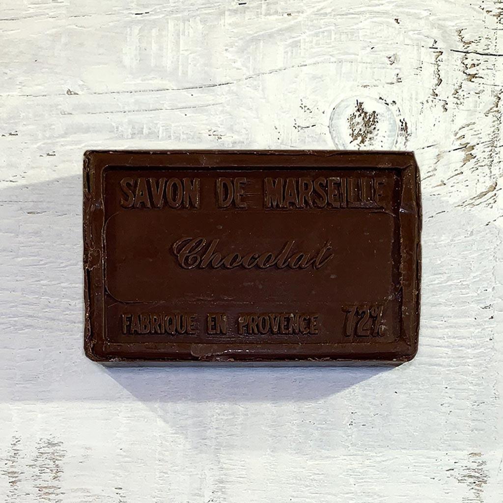"Seife ""Schokolade "" 100 g, Savon de Marseille ""Chocolat"""