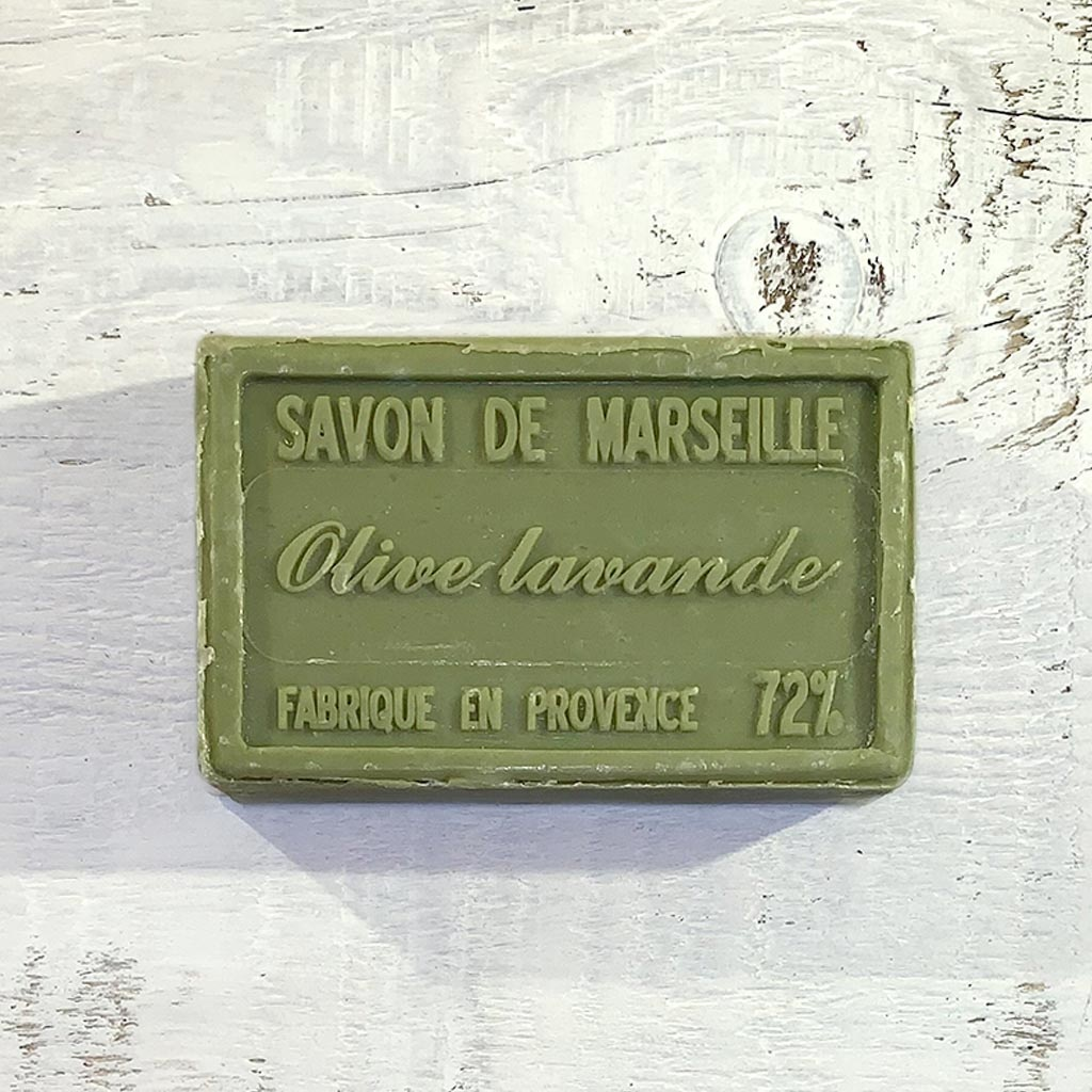"Seife ""Olive-Lavendel"" 100 g, Savon de Marseille ""Olive-Lavende"""