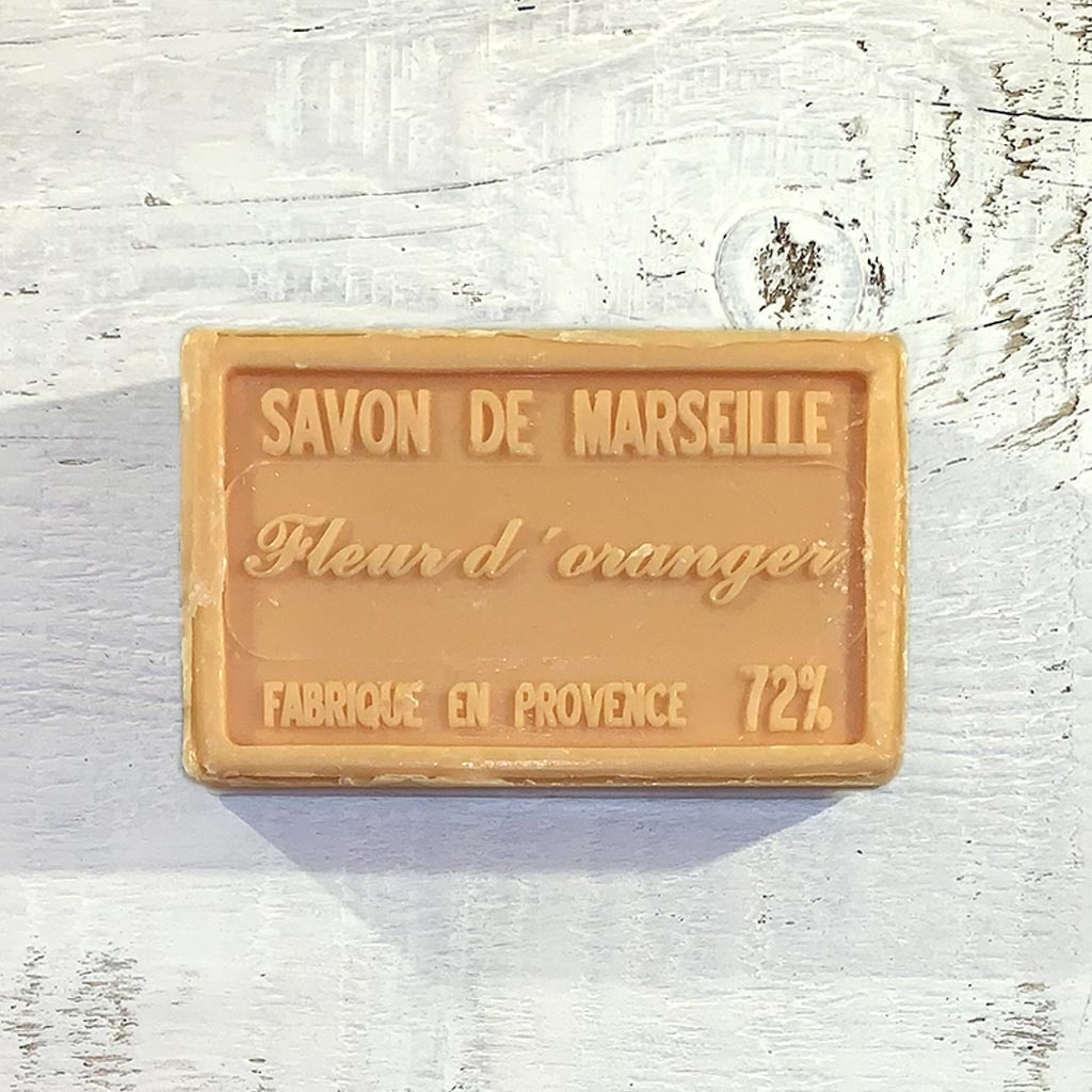 """Seife """"Orangenblüte"""" 100 g, Savon de Marseille """"Fleur d'oranger"""""""