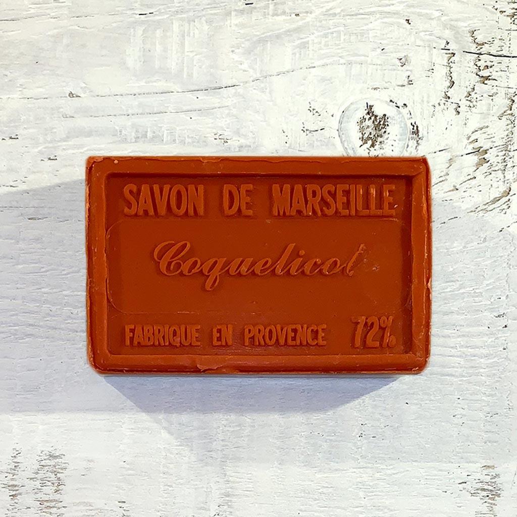 """Seife """" Mohnblüte"""" 100 g , Savon de Marseille """"Coquelicot"""""""