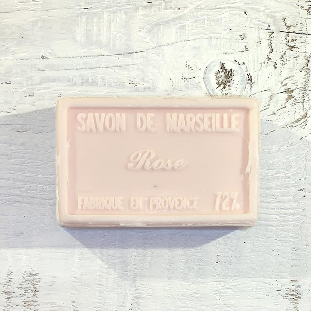 "Seife ""Wildrose "" 100 g, Savon de Marseille Rose"