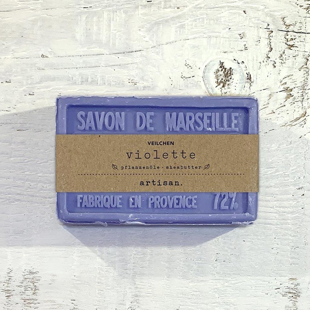 """Seife """"Veilchen """" 100 g, Savon de Marseille """"Violette"""""""