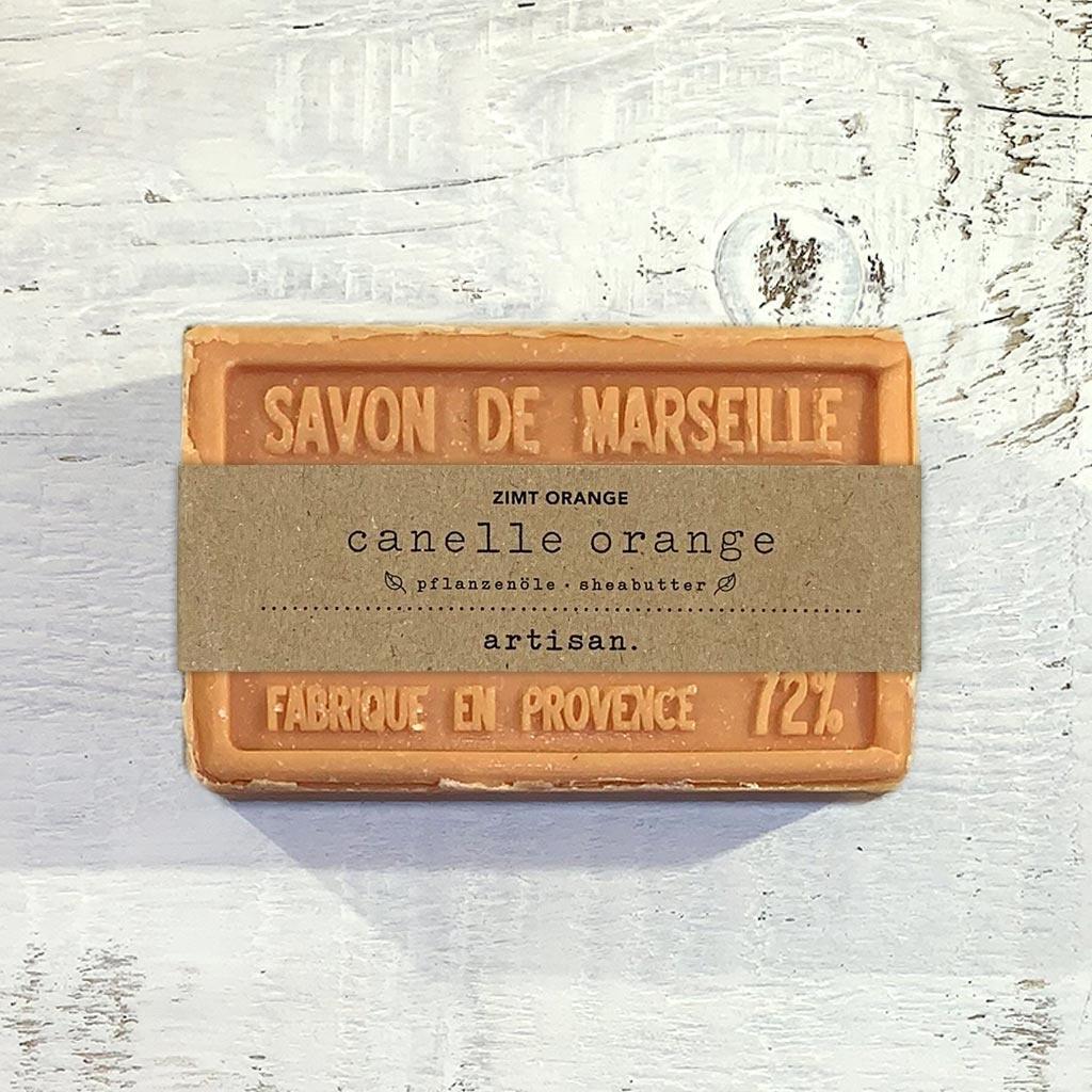 """Seife """"Zimt-Orange """" 100 g, Savon de Marseille """"Canelle orange"""""""