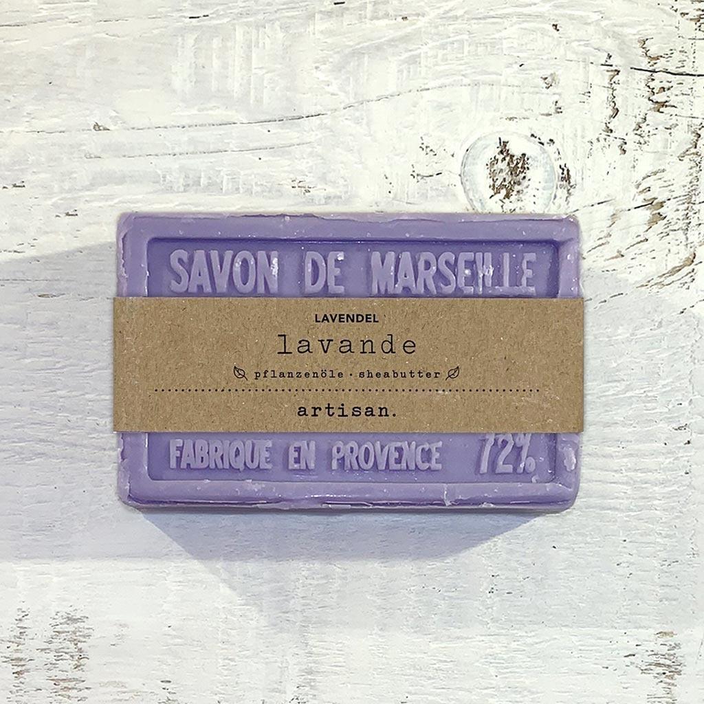 """Naturseife  """"Lavendel"""" 100 g, Savon de Marseille Seife """"Lavande"""""""