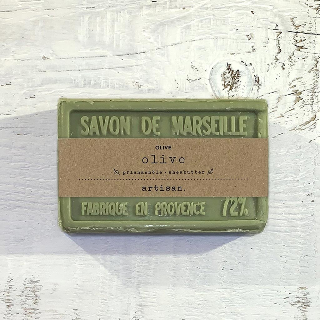 "Naturseife  ""Olive"" 100 g, Savon de Marseille  Seife ""Olive"""