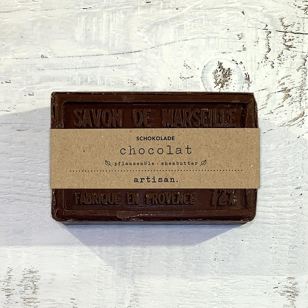 "Naturseife  ""Schokolade "" 100 g, Savon de Marseille Seife ""Chocolat"""