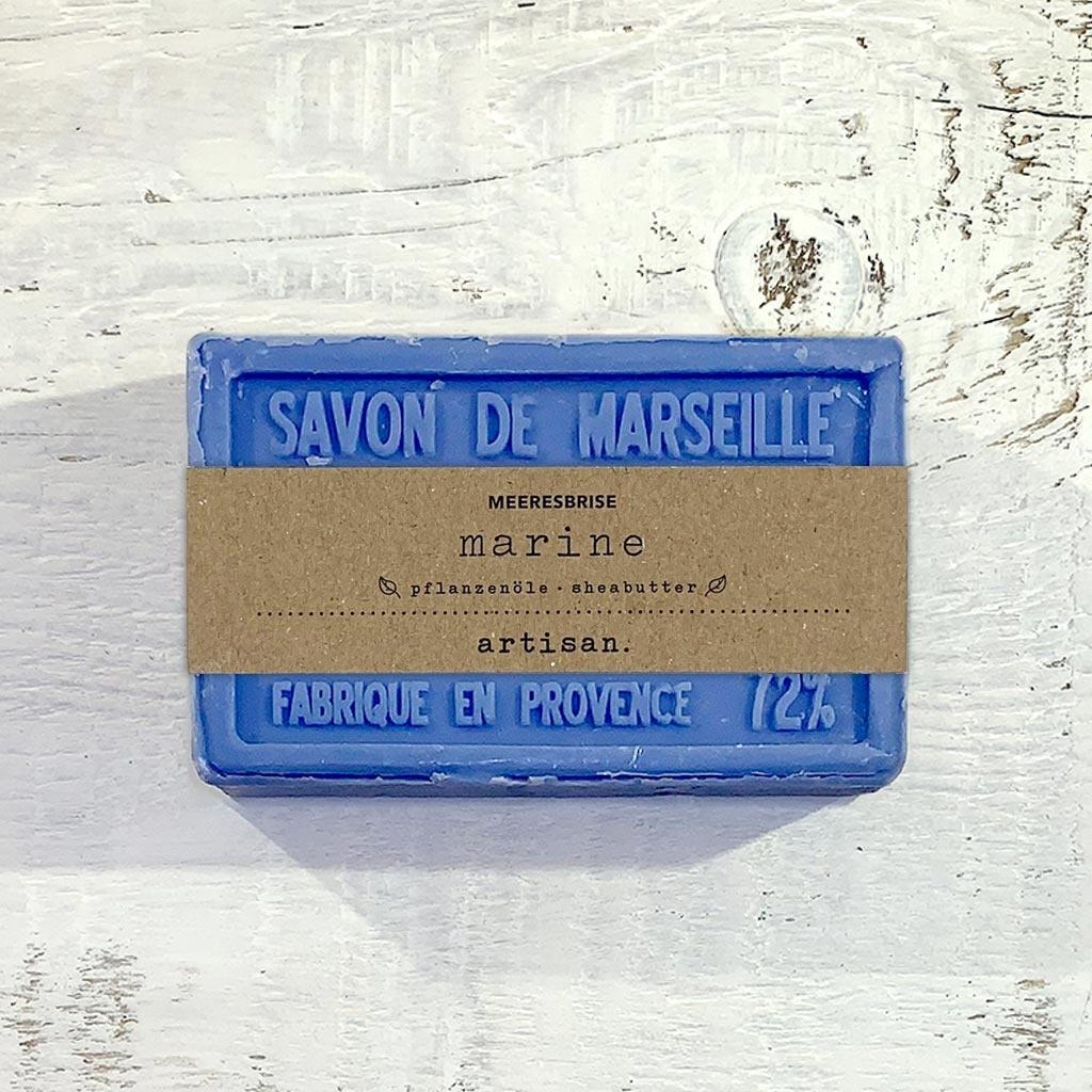 """Naturseife """"Meeresbrise"""" 100 g, Savon de Marseille Seife """"Marine"""""""
